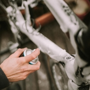 Easy bike cleaning with the dynamic dirt destroy foam spray