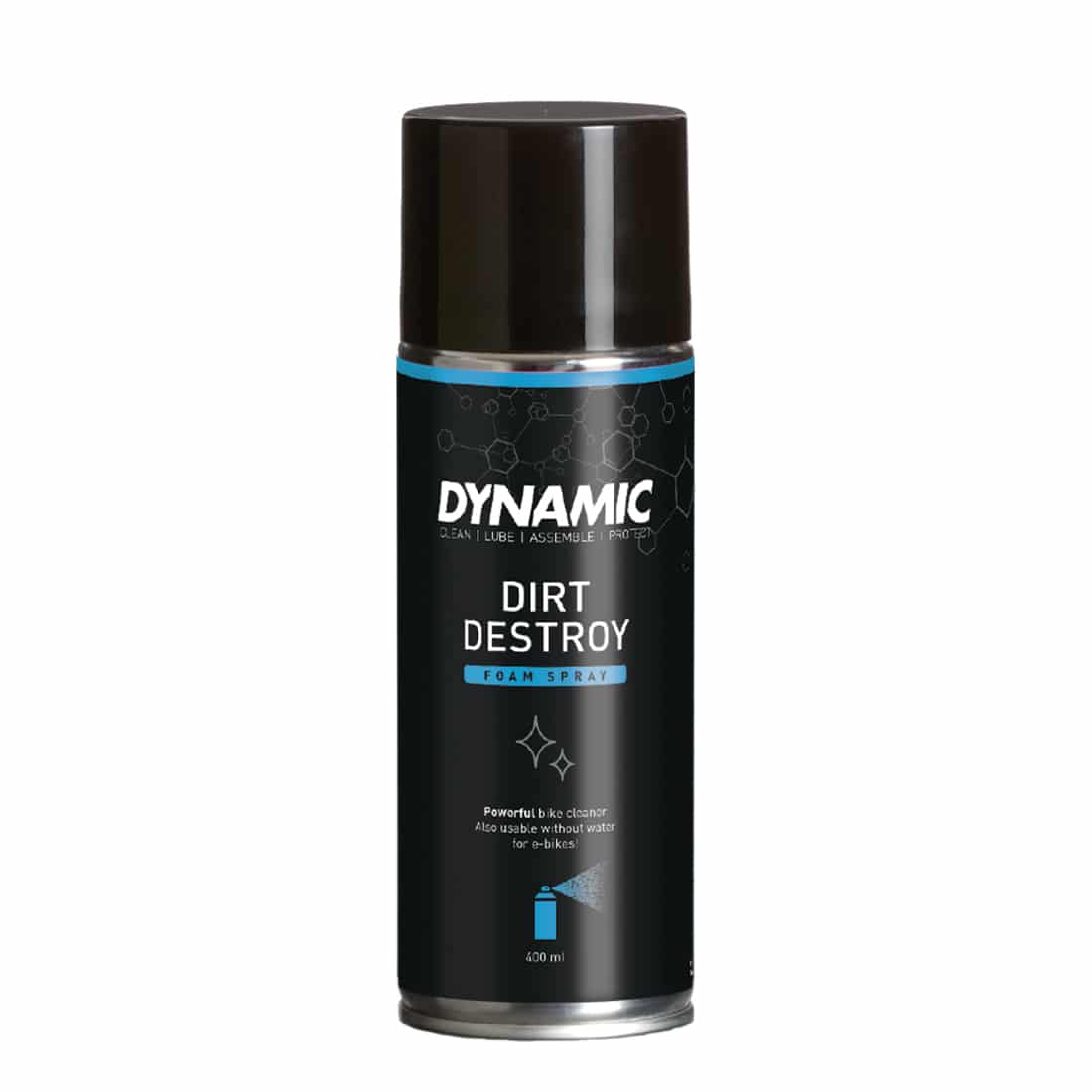 Dynamic Bike Care Dirt Destroy Foam Spray Bike Cleaning