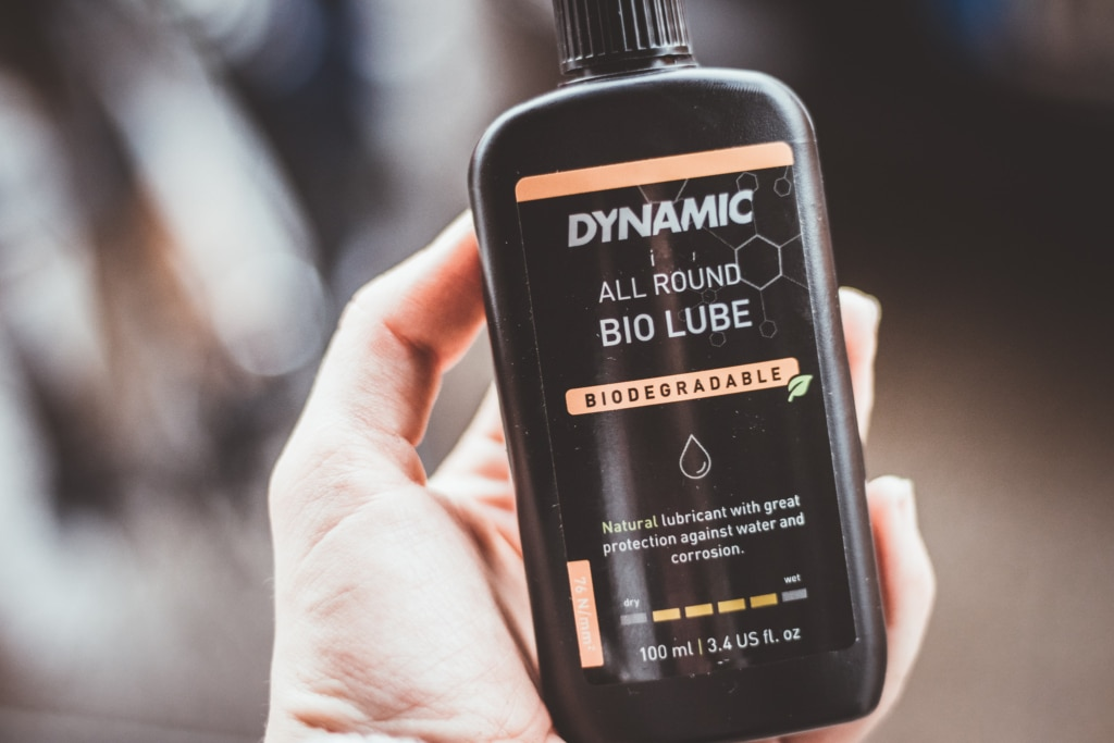 bio all round lube - for all weather conditions - how to lube your bike chain and how to apply the lube