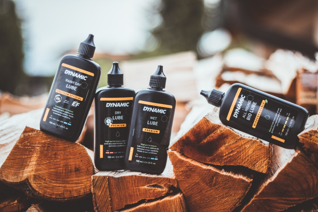 different lubes for your bike chain for different weather conditions with dynamic bike care